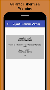 Gujarat Fishermen Warning - náhled