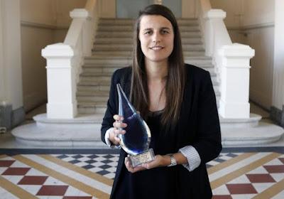 Laura De Neve zet zich op mooie erelijst
