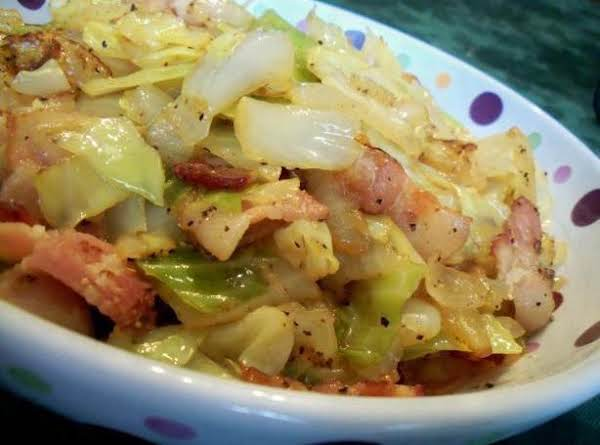 Fried Cabbage Dish