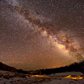 Galactic Center of the Milky Way by Jamie Link - Landscapes Starscapes ( stars, colorado, way, cosmos, space, astronomy, milky, galaxy )