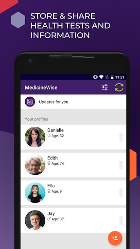MedicineWise screenshot for Android