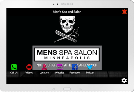 Men's Spa | Salon Minneapolis- screenshot thumbnail