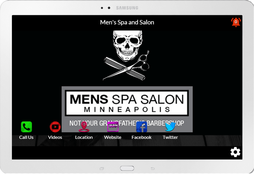 Men's Spa | Salon Minneapolis- screenshot