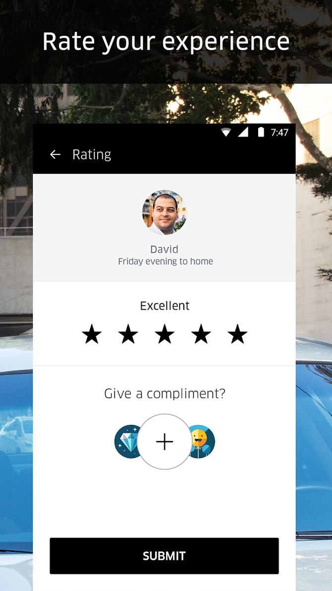 Uber Android 5