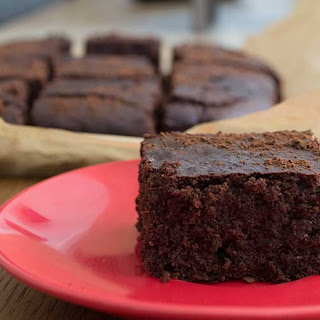 Chocolate, Orange & Chilli Brownies