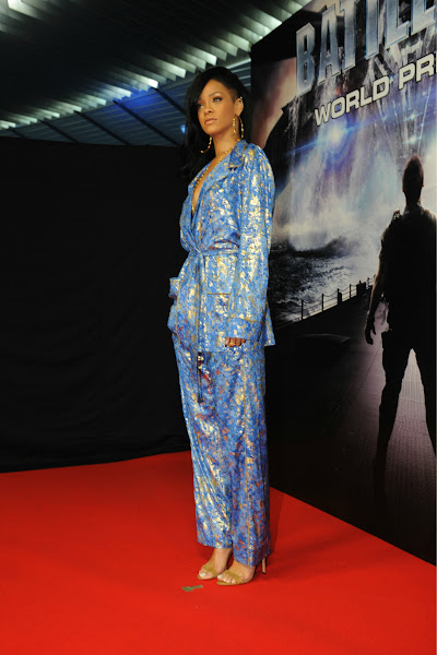 Photo: Rihanna attends the World Premiere of Battleship.