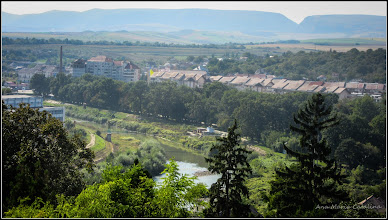Photo: Cimitirul Turda-Veche - Panorame spre  Raul Aries - 2016.09.08