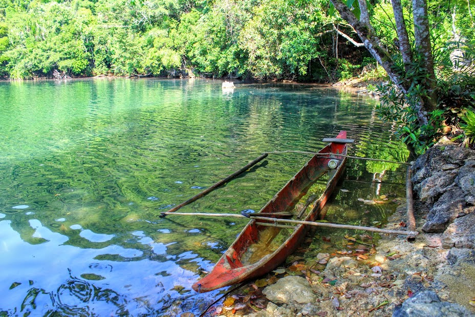 at Tiktikan Lake - Bucas Grande, Philippines