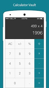 Calculator - Vault For Hide Photo Video & App Lock Screenshot