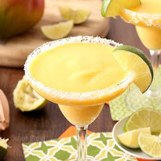 Mango Coconut Frozen Margaritas