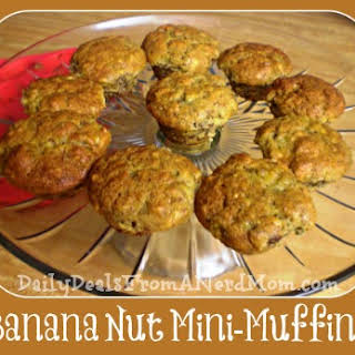 Banana Nut Mini-Muffin.