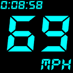 GPS Speedometer and Odometer Icon