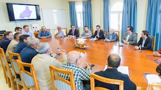 Cita en Níjar de la Diputación con los representantes de la Mesa
