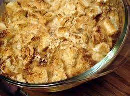 Applesauce Bread Pudding, Crock Pot Style Recipe