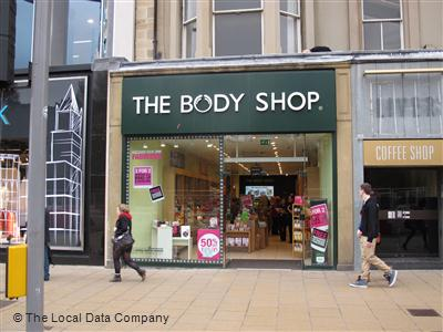 The Body Shop On Princes Street Beauty Products In New