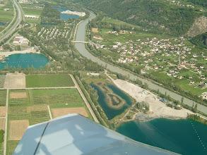 Photo: Turning for landing in Sion http://www.swiss-flight.net