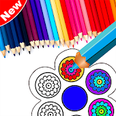 Coloring Book Fidget Spinner Free