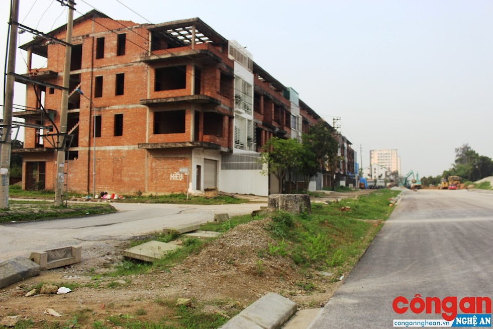 Nhiều dự án bất động sản liên tiếp triển khai tại TP Vinh