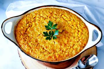 Outrageous Corn Pudding