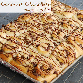 Coconut Chocolate Sweet Roll.