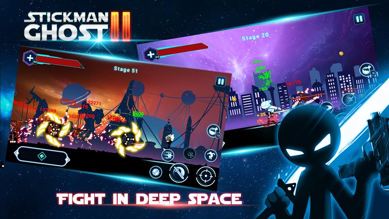 Stickman Ghost 2: Gun Sword v4.1.3 + Mod