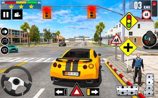 Car Driving School 2020: Real Driving Academy Test modavailable screenshots 2