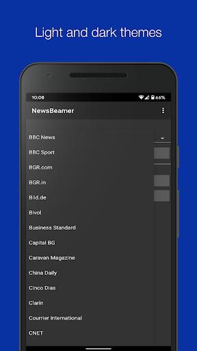 Newsbeamer screenshots 2