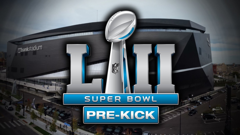Watch Super Bowl LII Pre-Kick live