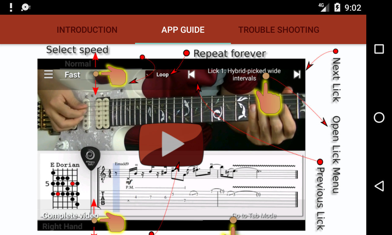 Jazz Rock Guitar- screenshot
