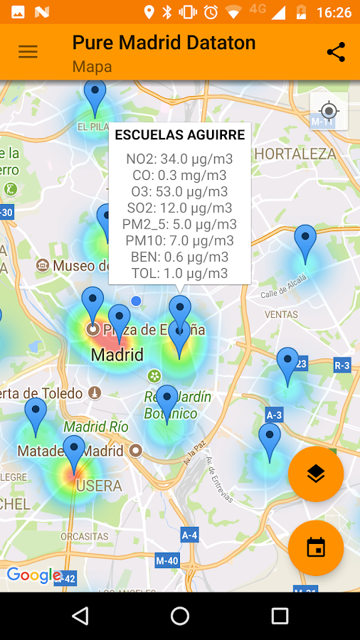 Pure Madrid (Avisos y aire de Madrid)- screenshot