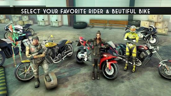 Impossible Moto Bike Stunt tracks rider - náhled