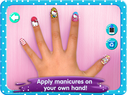 Hello Kitty Nail Salon screenshot 9