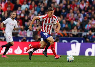 Un joueur de l'Atlético de Madrid tacle gentiment Liverpool en mémoire de l'élimination en Ligue des champions