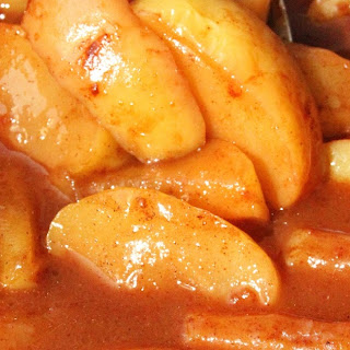 Slow Cooker Cinnamon Fried Apples Recipe