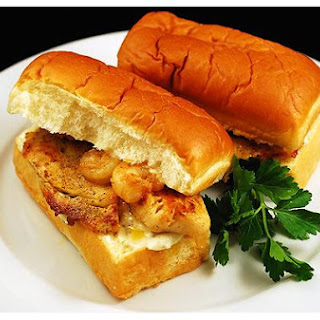 Tilapia Shrimp Po'boys.