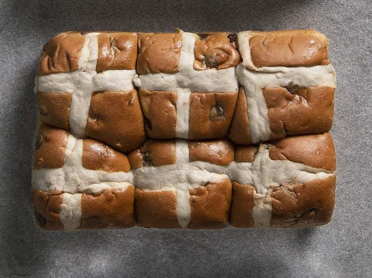 Pick n Pay Traditional Hot Cross Buns.