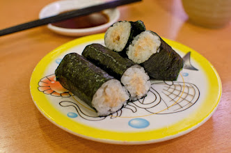 Photo: Tuna sushi roll at Kappa Zushi