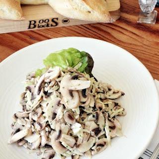 Paragary's Sliced Mushroom Salad.