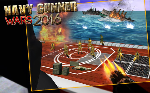 Navy Gunner Wars 2016