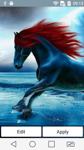 Magic horse live wallpaper