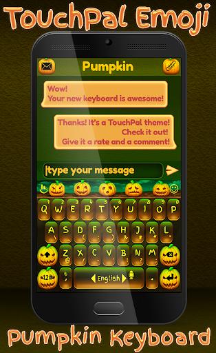 TouchPal Emoji Pumpkin HD