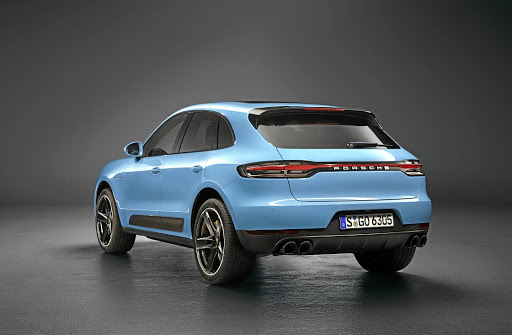 Picture caption: The rear gets the latest Porsche LED light strip design feature. Picture: PORSCHE