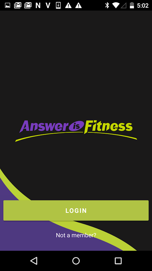 Answer is Fitness.- screenshot