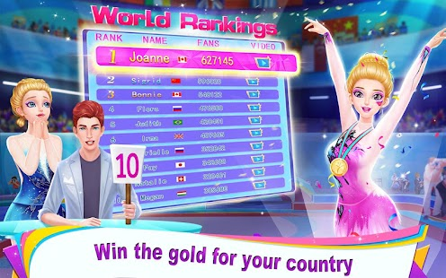 Gymnastics Queen - Go for the Olympic Champion! Screenshot