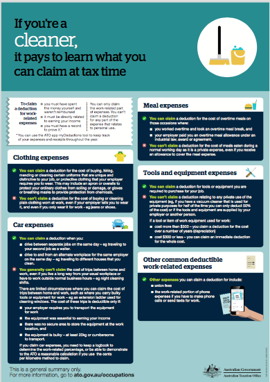 Click Here To Download Your Tax Deduction Checklist For Cleaners