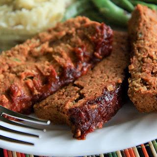 Two Bean Meatless Meatloaf.