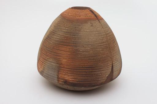Eric Astoul Stoneware Round Vase