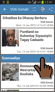 Somalia Newspapers- screenshot thumbnail