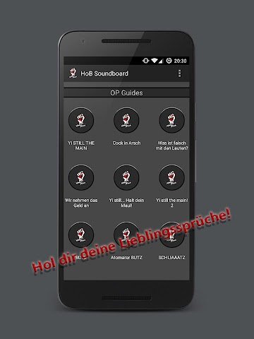 android HandOfBlood Soundboard Screenshot 0