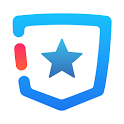 blue pocket icon
